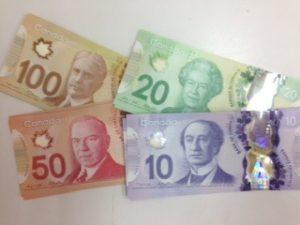 カナダドルを少し購入してみまし...
